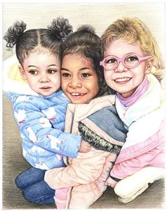 Hand Drawn Colored Pencil Portraits from Photos | Colored Pencil Drawings from Photos