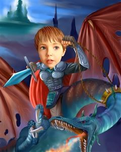 Eragon Caricature from Photo