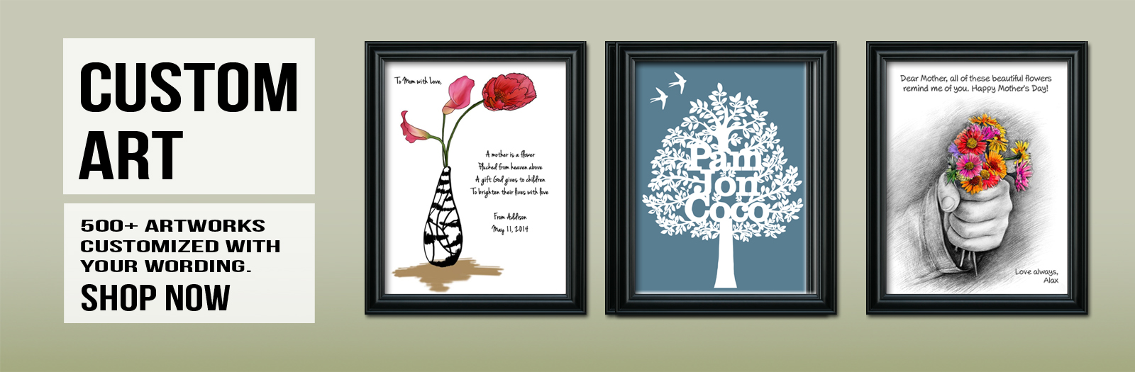 Picture to art, photo to art - personalized art