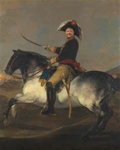 Personalized Masterpiece of A Horseback General from Photo