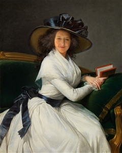 Personalized Portrait of Marie-Charlotte Masterpiece from Photo