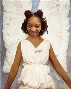 Personalized Angel Girl Masterpiece from Photo