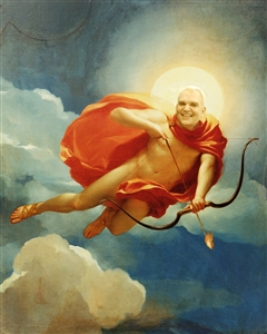 Personalized Helios Personification of Midday Masterpiece from Photo