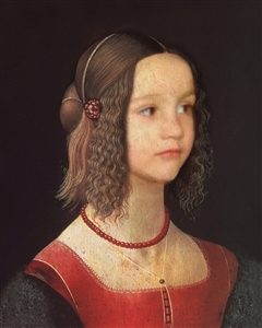Personalized Renaissance Girl II Masterpiece from Photo