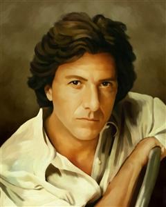 Dustin Hoffman Oil Painting Giclee