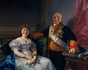 Personalized A Royal Couple Masterpiece from Photos