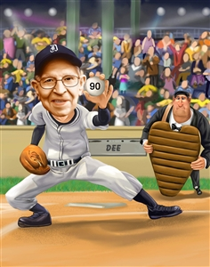 Best Baseball Player Caricature from Photo