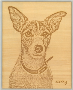 Photo Wood Engraving | Wood Burning Picture | Wood Burning Portrait