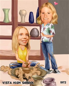 Custom Caricature from Photos