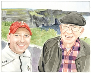Custom Watercolor Portraits from Photos | Photo to Watercolor