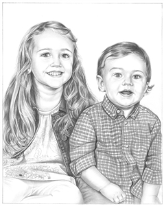Hand Drawn Pencil Sketch from Photo | Pencil Portrait Drawing | by Pencil Drawing Artists