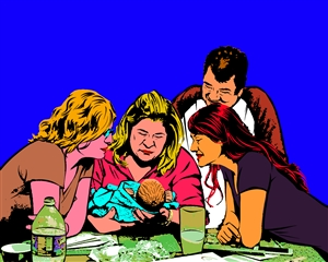 Pop Art 1 Panel from Photos