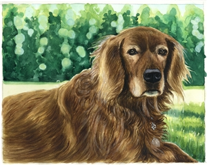Custom Watercolor Portraits from Photos | Custom Watercolor Painting