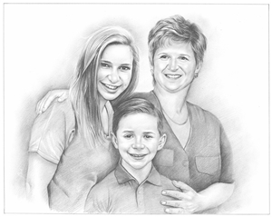 Hand Drawn Pencil Portraits from Photos | Pencil Portrait Drawing | Sketch Artists