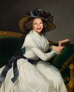 Custom Masterpiece - Portrait of Marie-Charlotte