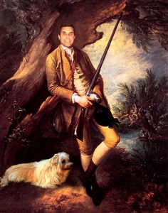 Personalized Masterpiece William and His Dog from Photo
