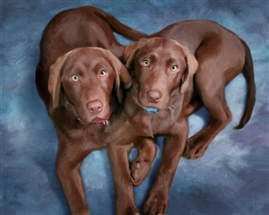 Oil Painting Giclee from Photos
