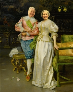 Personalized Betrothed Masterpiece from Photos