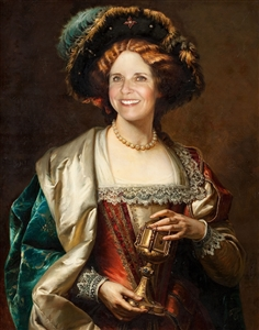 Personalized A Noblewoman Masterpiece from Photo
