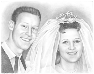 Hand Drawn Pencil Portraits from Photos | Pencil Portrait Drawing | Pencil Sketch Artists