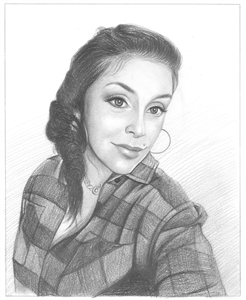 Hand Drawn Pencil Portraits from Photos   Pencil Portrait Drawing   Pencil Sketch Artists