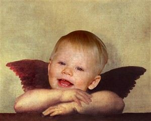Personalized Angel Masterpiece from Photo