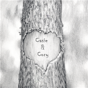 Custom Love Trunk Pencil Sketch Print