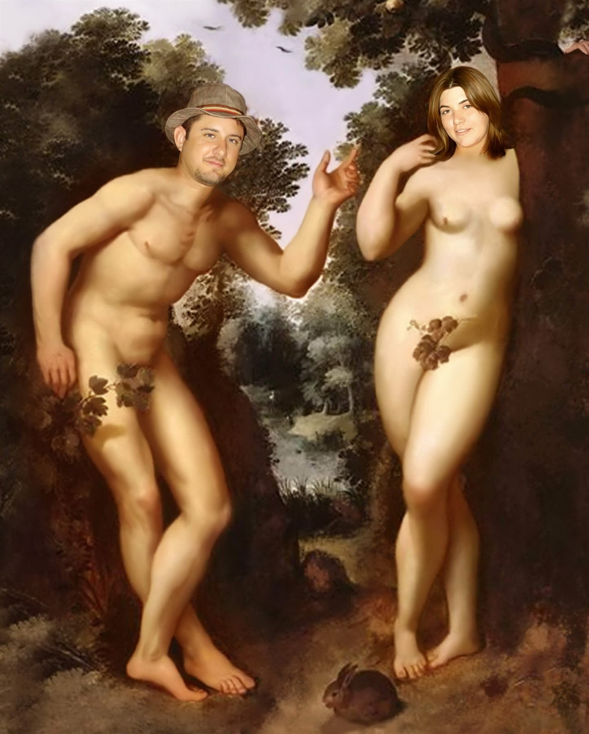 Adam and Eve from Photos