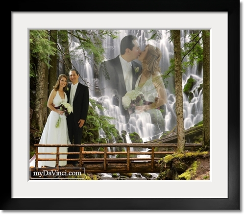Waterfall Romance Fantasy From Photos Mydavinci Com