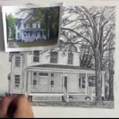 pencilsketch-house