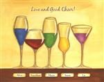 Cheers to Friendship Wineglasses V
