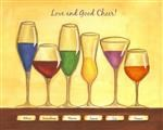 Cheers to Friendship Wineglasses VI