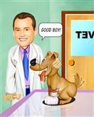 Vet Caricature from Photos