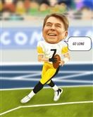 Football Player Caricature from Photos
