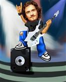 Rockin Out Caricature from Photos