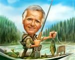 Gone Fishin Caricature from Photos