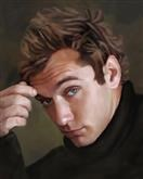 Jude Law Oil Painting Giclee