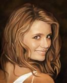 Mischa Barton Oil Painting Limited Editions