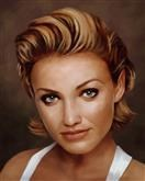 Cameron Diaz Oil Painting Limited Editions