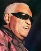 Ray Charles Oil Painting Limited Editions