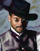 Will Smith Oil Painting Giclee