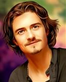 Orlando Bloom Pop Art Limited Editions