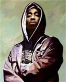 2Pac Oil Painting Giclee