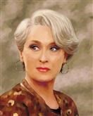 Meryl Streep Oil Painting Limited Editions