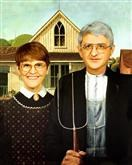 American Gothic from Photos